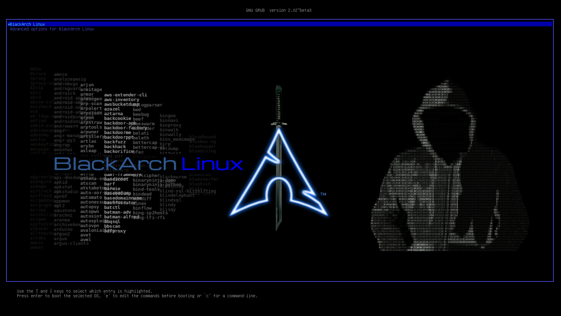 BlackArch Linux wallpaper